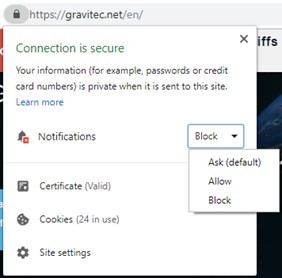 How to Unblock Notifications on Chrome?