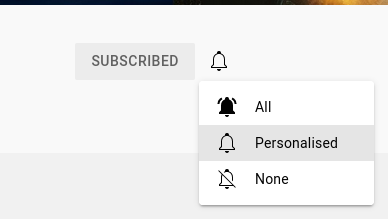 How to subscribe to YouTube notifications