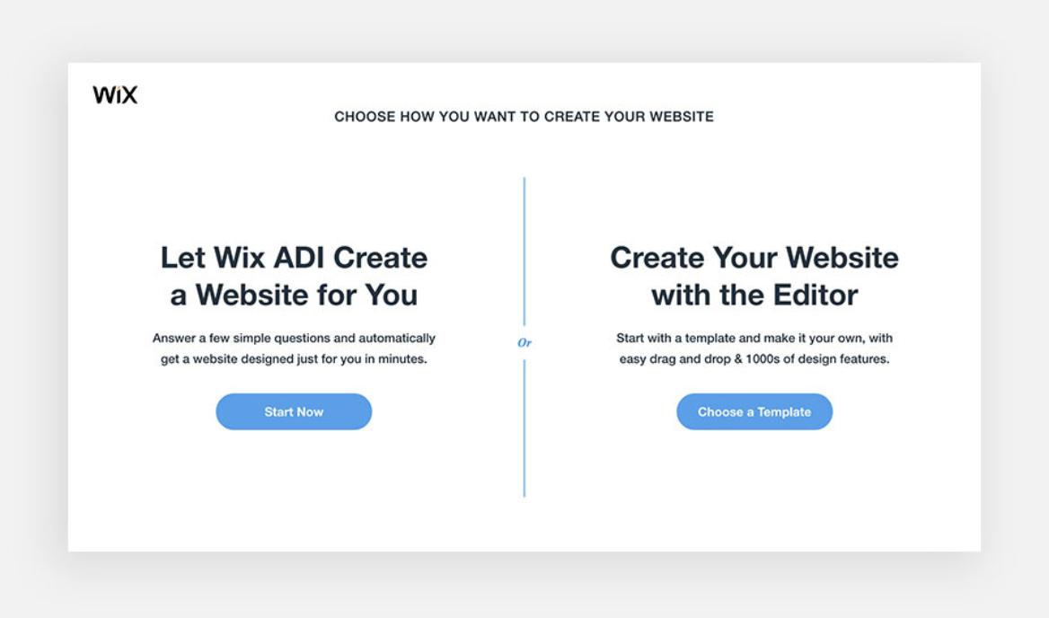 Wix Editor vs Wix ADI