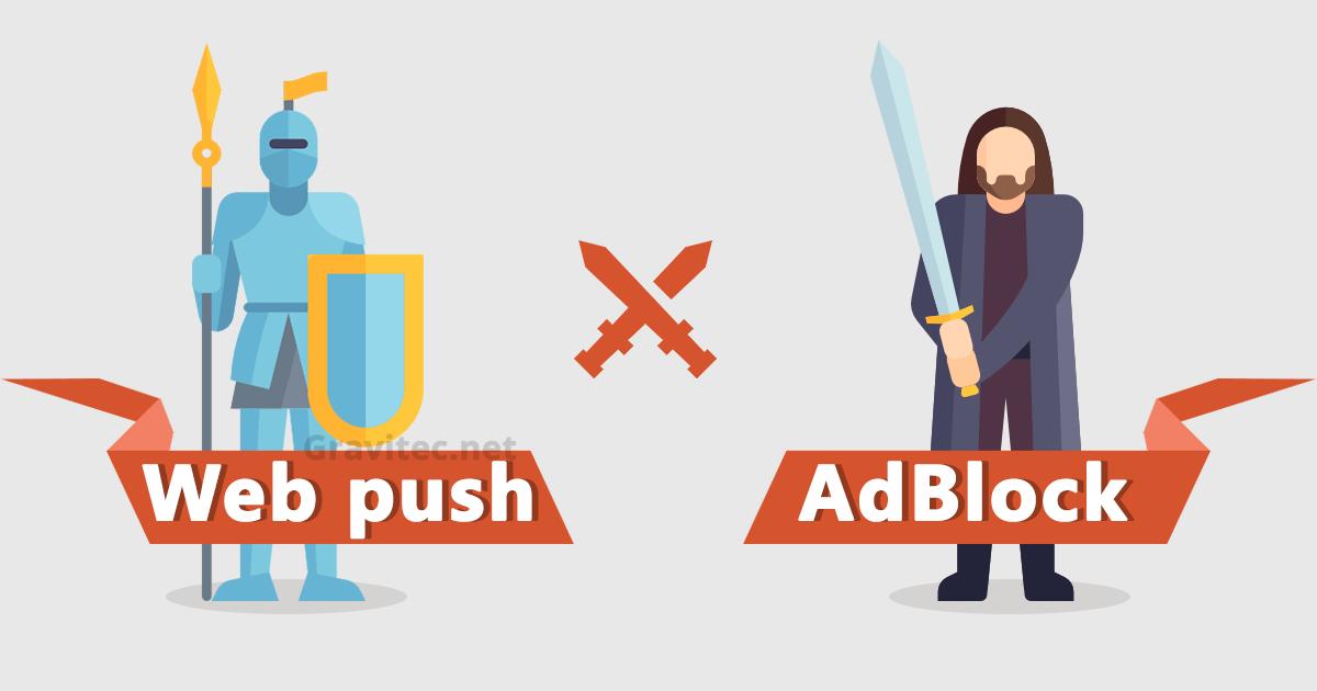 push against adblock