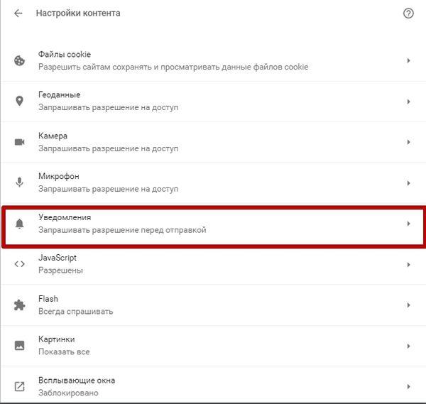 Как отписаться от push-уведомлений в Chrome