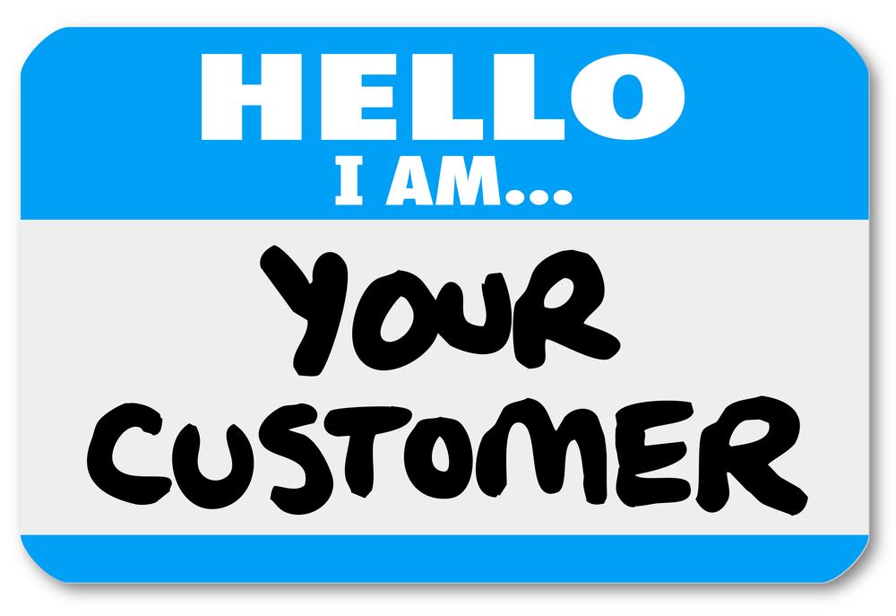 welcome customer